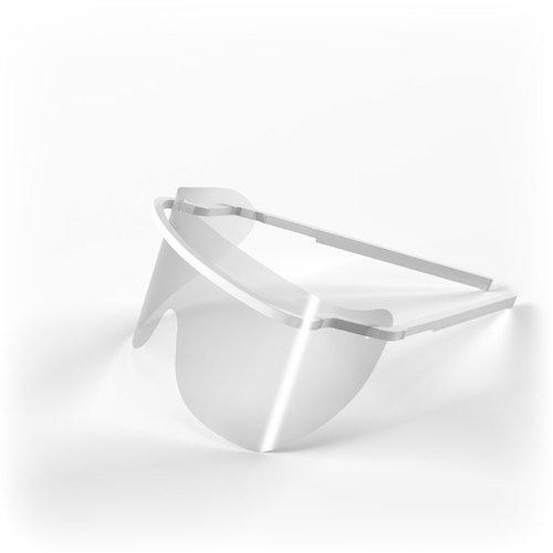 Экран пластмассовый для предохранения глаз медперсонала