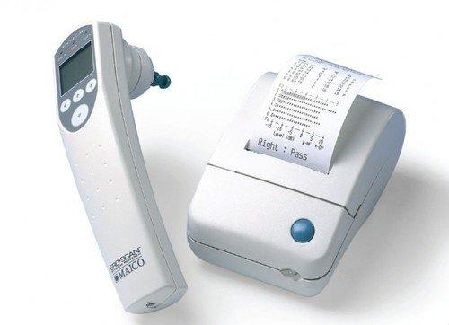 Прибор для проведения тестирования отоакустической эмиссии на частоте продукта искажения ERO SCAN    DPOAE – Diagnostic с принтером