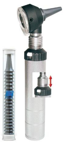 Отоскоп COMBILIGHT (Комбилайт) ФО 30, LED 2,5В, металл