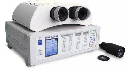 Аппарат ИК-лазерный для аккомодационно-рефракц. нарушений МАКДЭЛ-09.1