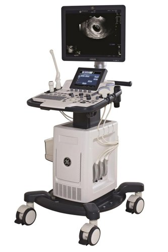 GE Logiq F6 УЗИ аппарат среднего класса с четырьмя датчиками