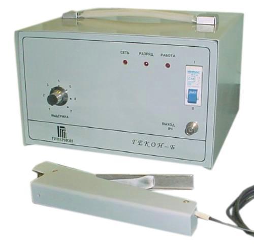 Устройство для запаивания трубок полимерных контейнеров с выносным приспособление для запаивания «ГЕКОН-Б» С АВТОНОМНЫМ ПИТАНИЕМ