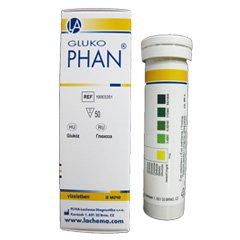 Тест-полоски многофункциональные для анализа мочи ГлюкоФАН, 50 шт.