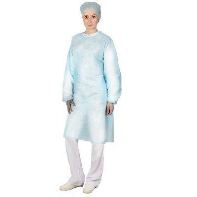 Одежда одноразовая медицинская  Халат хирургический нестерильный 140 см