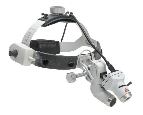 Осветитель медицинский налобный  HEINE  ML4 LED с  карманным акккумулятором mPack