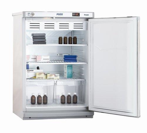 Холодильник фармацевтический ХФ-140, дверь металл