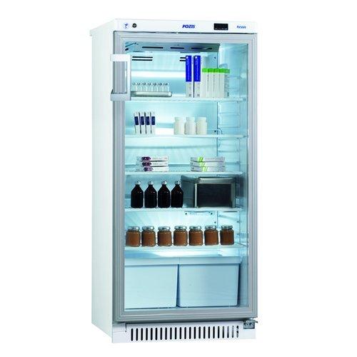 Холодильник фармацевтический ХФ-250-3, дверь стекло