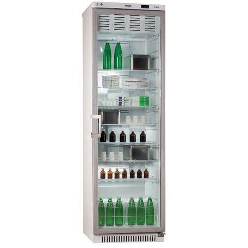Холодильник фармацевтический ХФ-400-3, дверь стекло