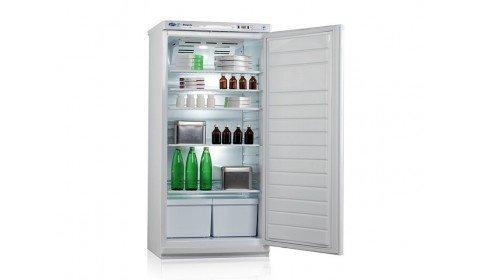 Холодильник фармацевтический ХФ-250-2, дверь металл