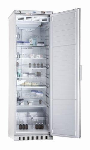 Холодильник фармацевтический ХФ 400-2, дверь металл, с замком