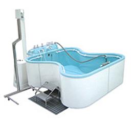 Ванна медицинская бальнеологическая для процедур c лекарственными растворами, автоматического воздушно-пузырькового массажа, модель 1.5-3,Unbescheiden