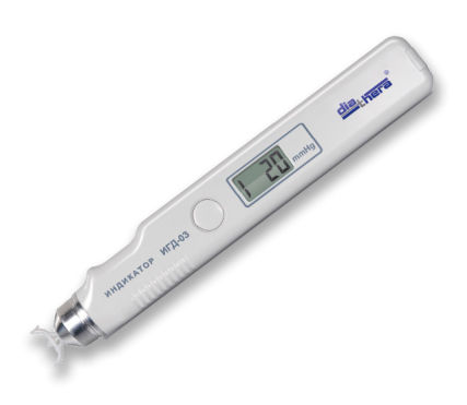 Индикатор внутриглазного давления через веко цифровой портативный ИГД-03 Diathera