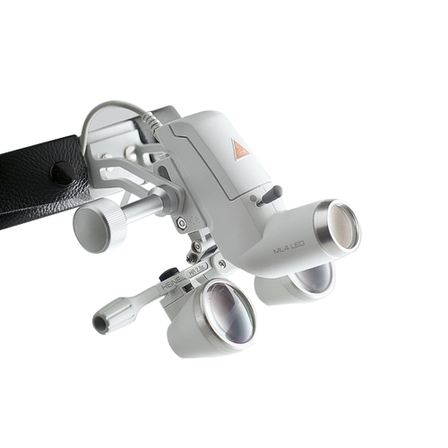 Налобный осветитель ML 4 LED UNPLUGGED, бинок. лупа HR 2,5 х/340 мм