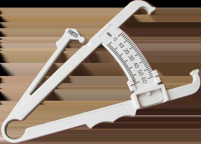 Калипер для самостоятельного измерения содержания жира в организме