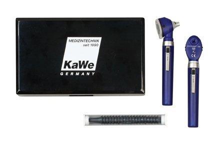 Офтальмоскоп PICCOLIGHT (Пикколайт) KaWe E56  sky (темно-синий), с 6 апертурами (с галогеновой лампой 2,5В), сумочка в комплекте