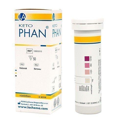 Монофункциональные полоски ФАН (для анализа мочи) КетоФАН (50 полосок)