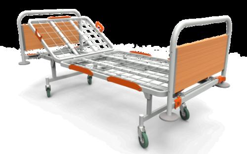Кровать медицинская КФ-2 для лежачих больных, двухсекционная