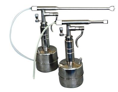 Криодеструктор портативный автономный на жидком азоте КриоИней с принадлежностями, с исполнении: гинекологический КИ-401 (с набором наконечников для гинекологии)