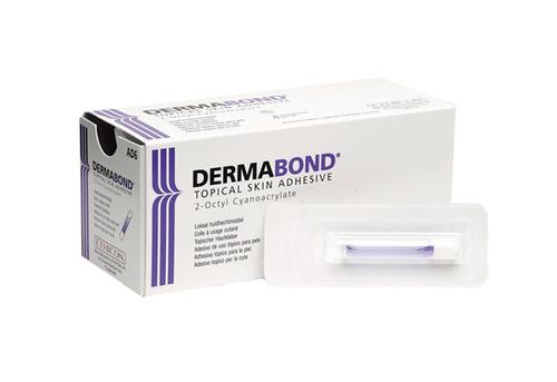 Клей кожный Дермабонд (Dermabond) высокой вязкости, 0,5 мл. с круглым наконечником, производства Ethicon