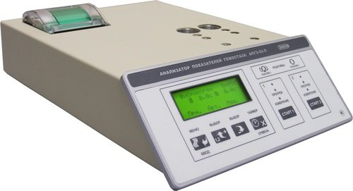 Коагулометр АПГ2-02-П – 2-х канальный оптико-механический с принтером