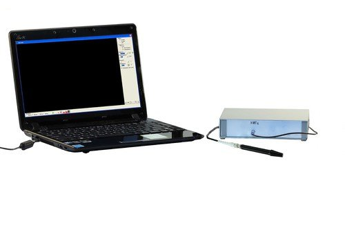 Сканер ультразвуковой для носовых пазух (эхосинускоп) - прибор компьютеризированный для синускопических обследований во внешнем настольном корпусе. Прибор диагностический ультразвуковой медицинский «Комплексмед» исполнение 4.3