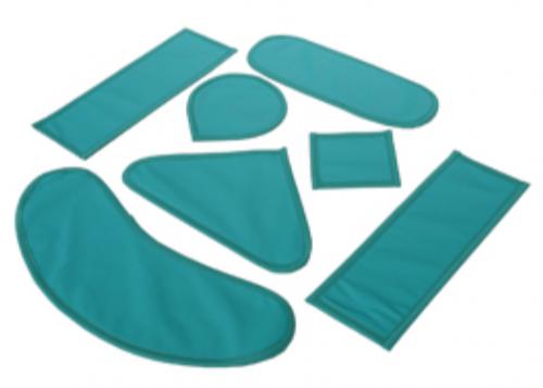 Набор пластин АМПКП5 0,5 мм Pb рентгенозащитных, 7 элементов