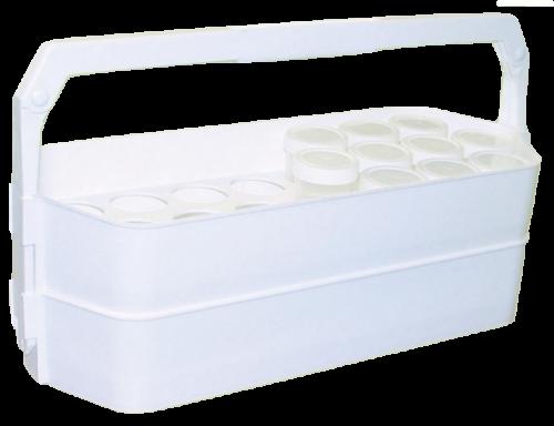 Контейнер для переноса баночек для анализов КПБ-01  (без баночек)