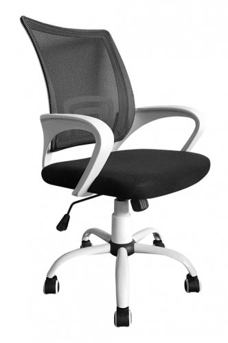 Кресло врача КР08, колеса, спинка, подлокотники