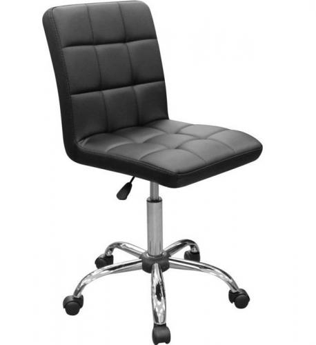 Кресло лаболаторное НС-105DK, колеса, спинка
