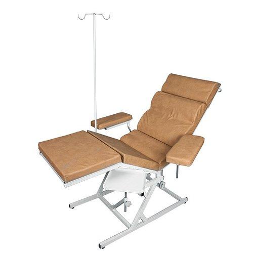 Кресло донорское с управляемым наклоном и штативом КДн-Диакомс