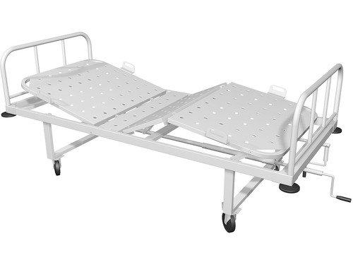 Кровать медицинская, трехсекционное ложе КМ-04