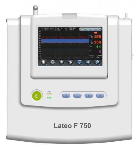 Монитор фетальный Lateo, вариант исполнения:Lateo F 750