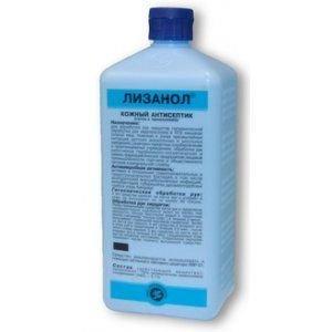 Лизанол антисептик для гиг. и хир. обработки рук, раствор, 1 л
