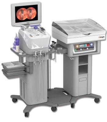 ЛОР-комбайн Mobile NET-1100 с креслом пациента