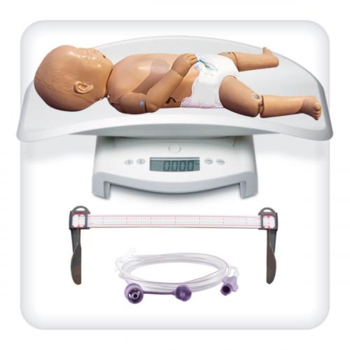 Манекен-симулятор новорожденного для отработки навыков ухода
