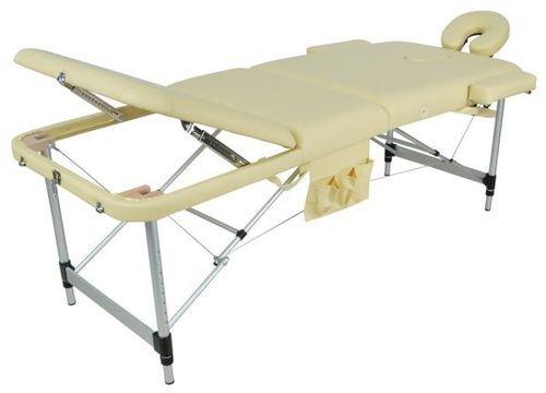 Массажный стол складной алюминиевый JFAL01A (МСТ-102Л) (3 секции)