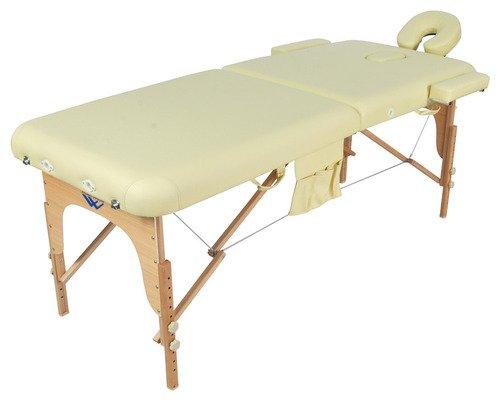 Массажный стол складной деревянный JF-AY01 (МСТ-003Л) (2 секции)