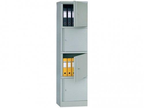 ПРАКТИК АМ-1845/4 металл, шкаф для документов