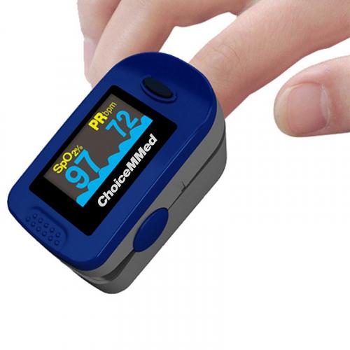 Пульсоксиметр педиатрический CHOICEMMED MD300C2 миниатюрный цв. дисплей