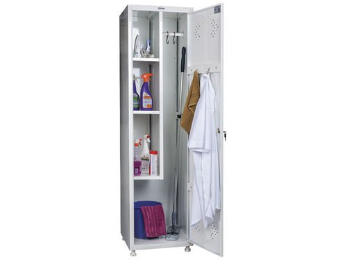 Шкаф для уборочного инвентаря 1920*/1830x500x500 HILFE МД 1 ШМ-SS (11-50)