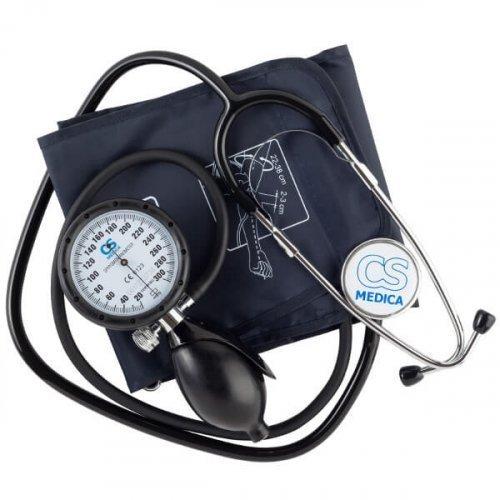 Тонометр механический CS Medica 107, с фонендоскопом