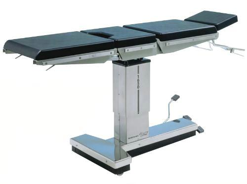 Merivaara 1650, операционный стол с пневмогидравлическим приводом с односекционной ножной секцией