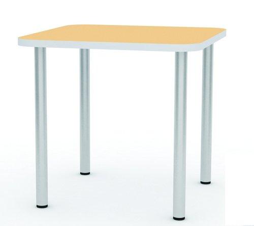 Стол палатный с закругленными углами, 900х900х750мм