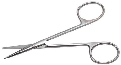 Ножницы: Operating глазные тупоконечные прямые, 113 мм