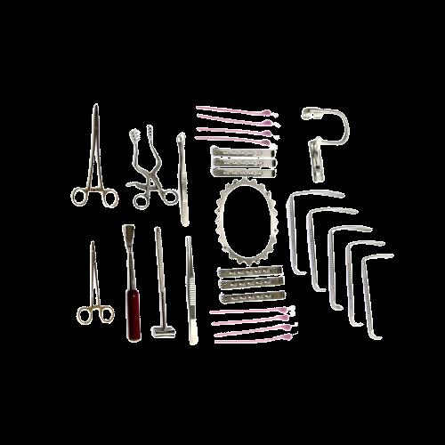 Набор инструментов урологический операционный большой