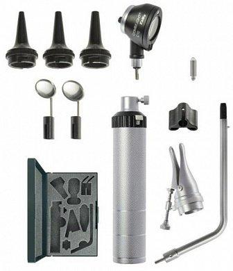 Набор диагностический BASIC-Set C10  2,5В (ото-риноскоп с принадлежностями) (вакуумная лампа, теплый свет), пр-ва KaWe