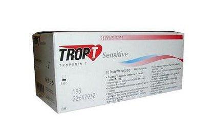 Набор тест-полосок для определения концентрации Тропонина Т