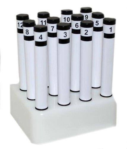 Набор пахучих веществ для ольфактометрии, 12 запахов, профессиональный