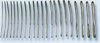 Набор расширителей канала шейки матки гинекологический с № 3-14 (22 шт.) по Гегаро, пр-ва Ворсма