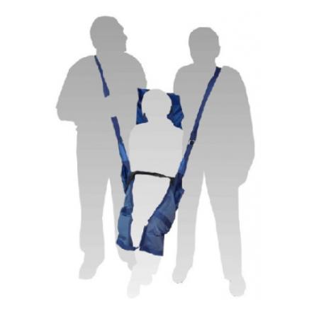 "Мягкие носилки ""НПФ-Медтехника"" (2100x850) НМ-03 с фиксирующими и плечевыми ремнями в сумке"